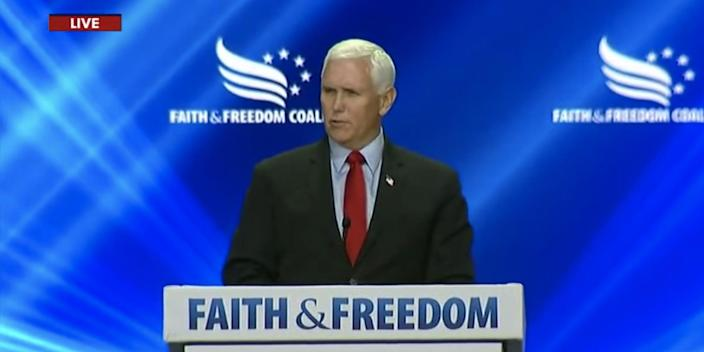 Former Vice President Mike Pence
