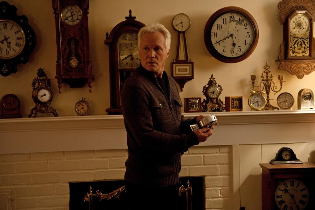 """Guest star James Morrison in the """"Grief"""" episode of """"Revenge.""""<br><br>Tune in to """"Revenge"""" this week to see what happens -- and be sure to download our super-cool TV app, IntoNow, and <a href=""""http://www.intonow.com//promo/revenge"""">enter our """"Revenge"""" sweepstakes</a> to win a luxury getaway in the Hamptons."""