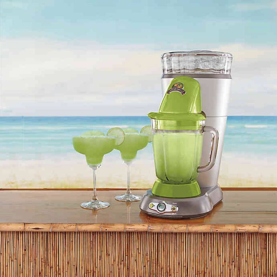 Save $40 on the Margaritaville Bahamas Frozen Concoction Maker. Image via Bed, Bath and Beyond.