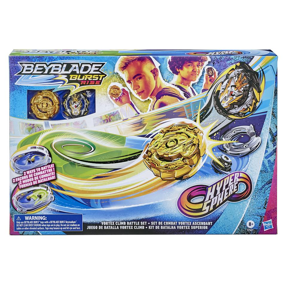 Indoor fun is more important than ever. Beyblades help.