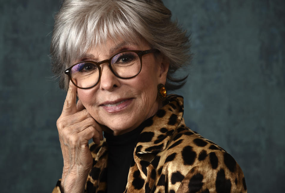 <p>EGOT winner, the legendary Rita Moreno. (Chris Pizzello/AP Photo)</p>