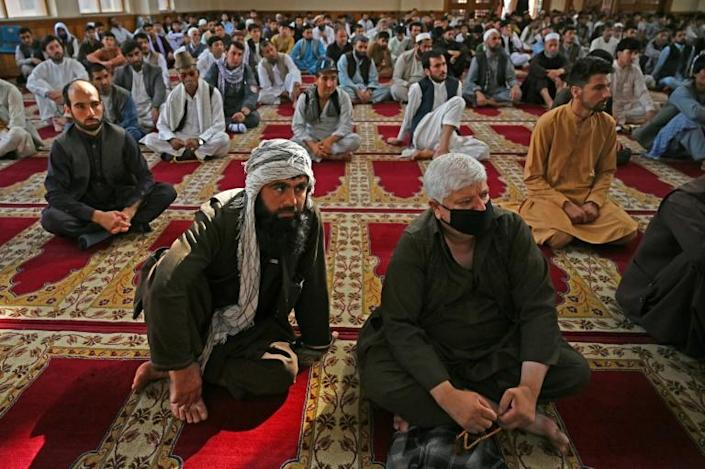 Many Afghans are hoping the Eid truce will lead to peace talks and the end of nearly two decades of conflict (AFP Photo/WAKIL KOHSAR)