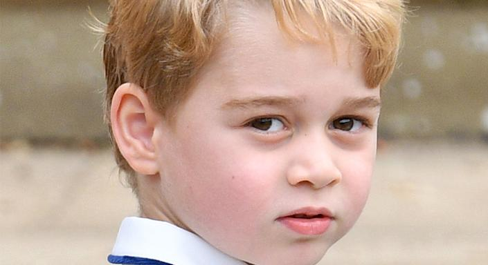 Happy Birthday Prince George! The stylish royal celebrates his 8th birthday with a royal portrait.  (Getty Images)