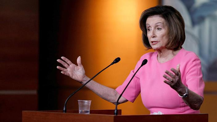 Speaker of the House Nancy Pelosi. (Tom Brenner/Reuters)