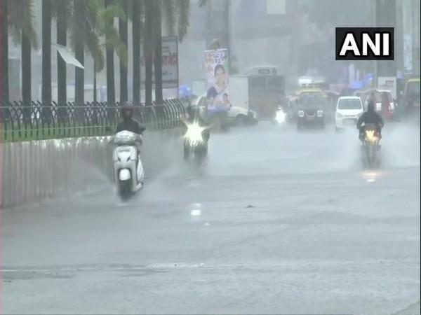 Several parts of city reported water-logging and transport disruptions. (Photos/ANI).