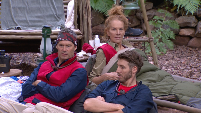 I'm A Celebrity's Tom Williams (left) and Dale Thomas have sparked a debate around Australia Day. Photo: Channel 10.