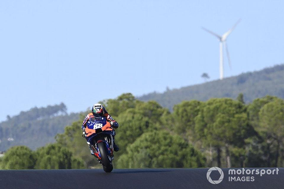 """#14 GP du Portugal - Victoire : Miguel Oliveira<span class=""""copyright"""">Gold and Goose / Motorsport Images</span>"""