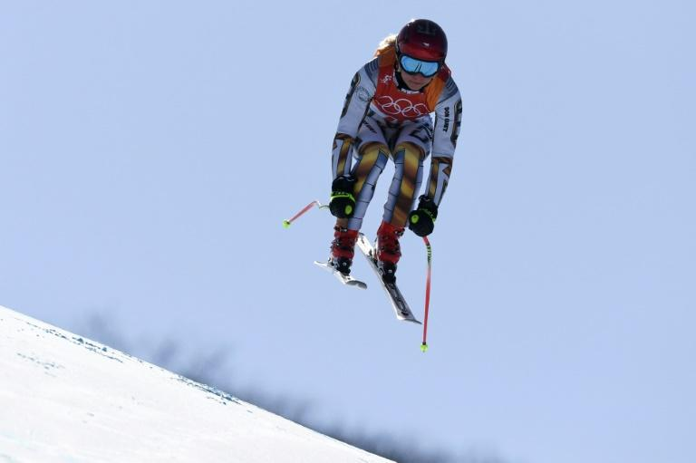 Snowboarder Ester Ledecka of the Czech Republic pulled off the biggest shock of the Pyeongchang Olympics so far when she won the alpine skiing women's super-G