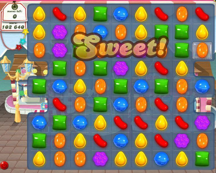 candy crush on facebook