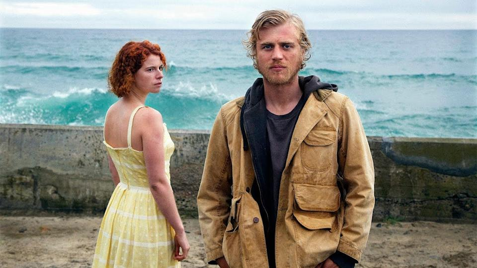 Jessie Buckley and Johnny Flynn in 'Beast'. (Credit: Altitude)