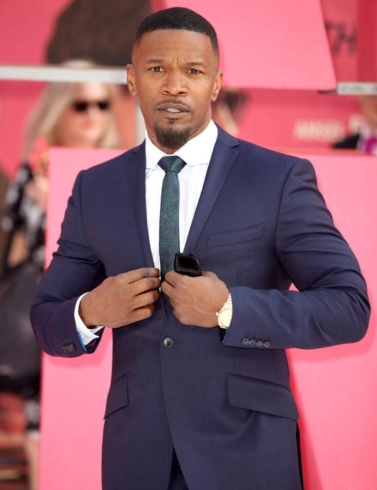 Jamie Foxx attends the European premiere of