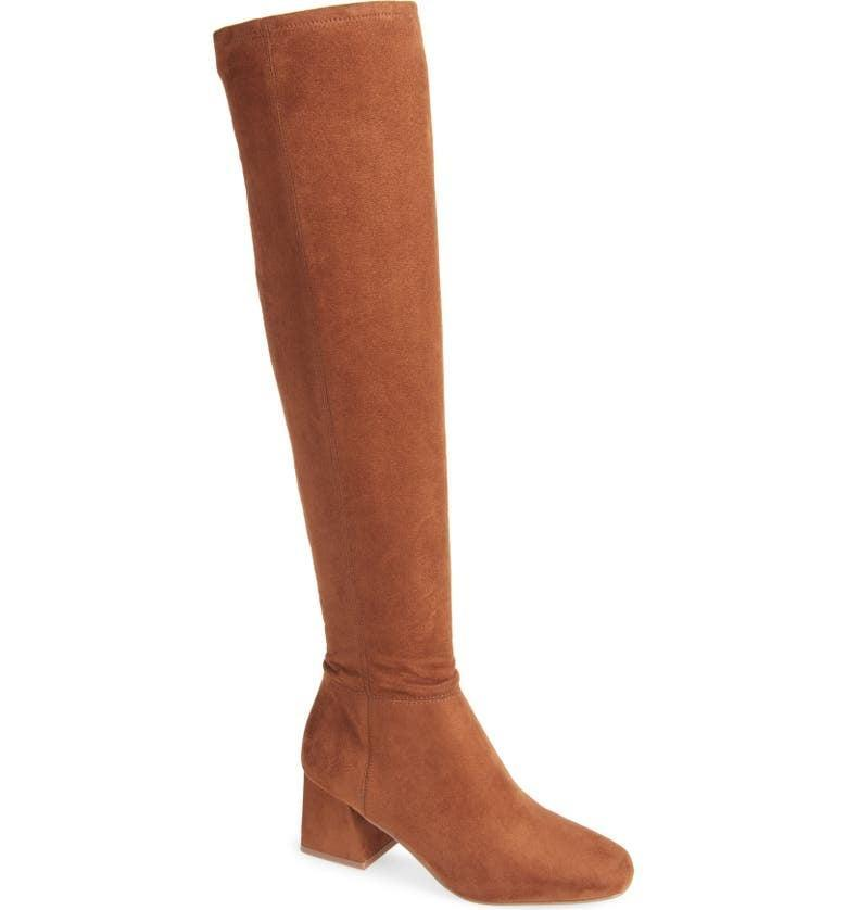 <p><span>Steve Madden Diggy Over the Knee Boot</span> ($100)</p>