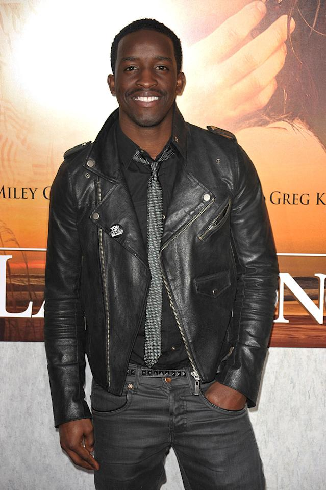 """<a href=""""http://movies.yahoo.com/movie/contributor/1808718773"""">Elijah Kelley</a> at the Los Angeles premiere of <a href=""""http://movies.yahoo.com/movie/1810098775/info"""">The Last Song</a> - 03/25/2010"""