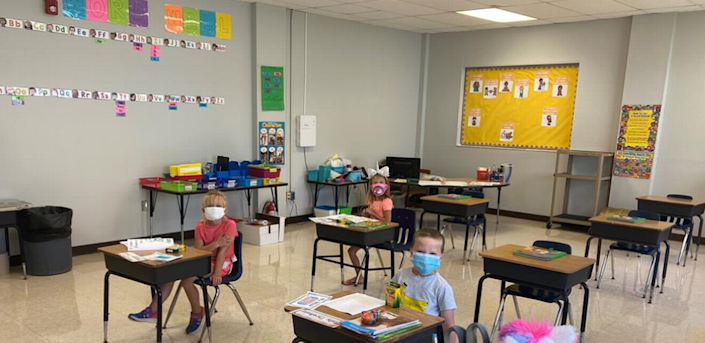 Monroe County public school students returned to the classroom in full force on Sept. 14, 2020.