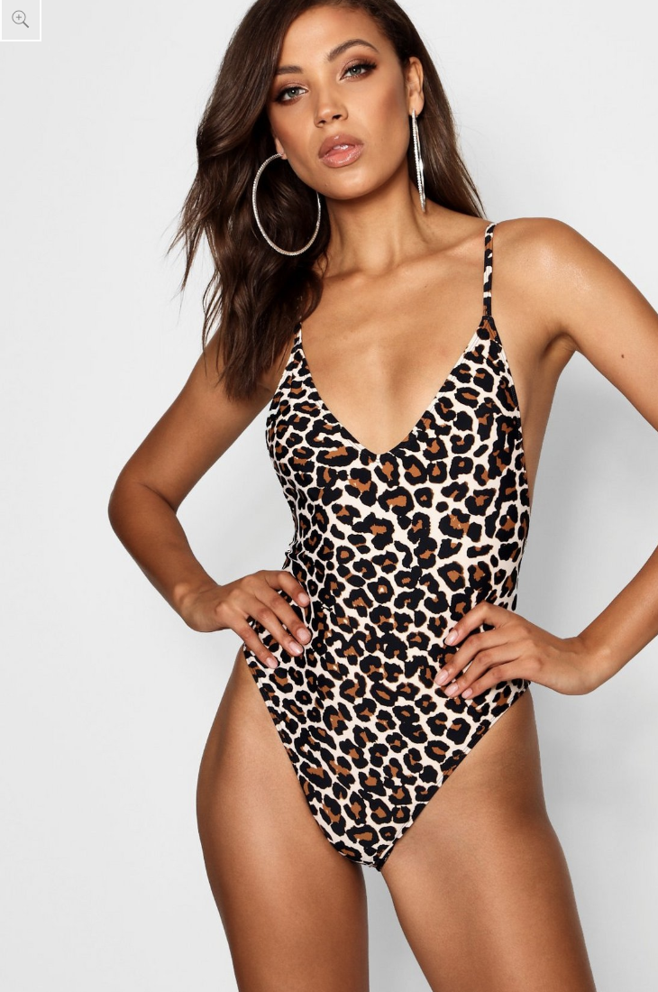 Boohoo bathers retail for just $22.50. Photo: Boohoo