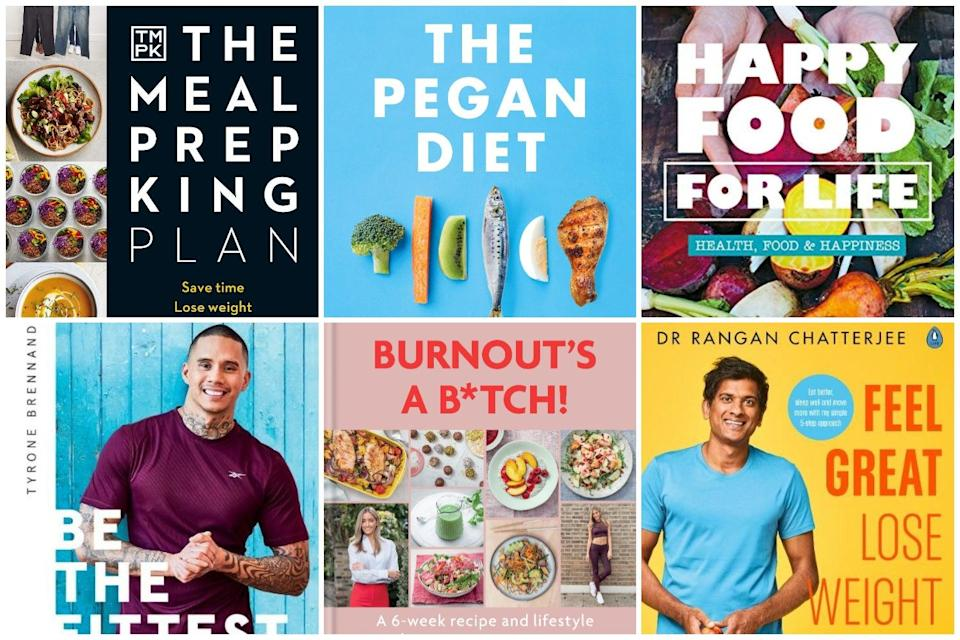 (Meal Prep King, The Pegan Diet, Happy Food for Life, Be the Fittest, Burnout's a Bitch, Feel Great, Lose Weight)