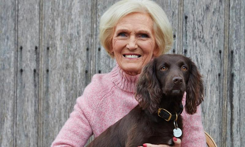 Mary Berry who, at 85, still has a busy television career.