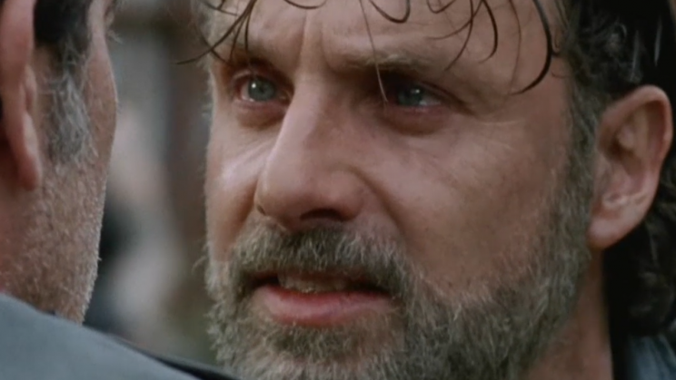 Ol' Unkillable Rick (played Andrew Lincoln)