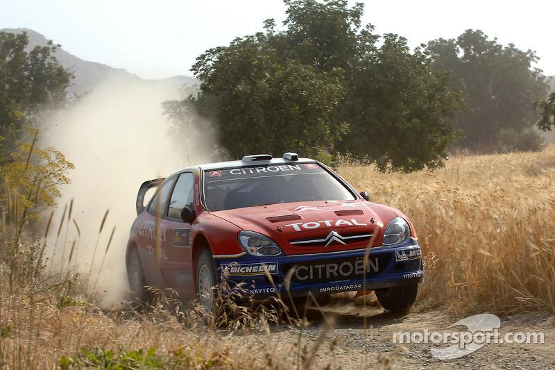 "6. Rally de Chipre 2005: 64,80 km/h<span class=""copyright"">Citroën Communication</span>"