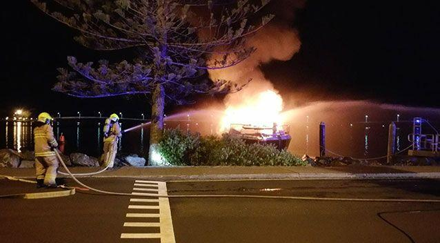 The cause of the blaze is still being investigated. Source: Prime 7