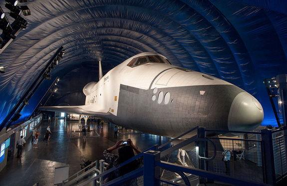 Space Shuttle Enterprise's New York Exhibit Reopening July 10