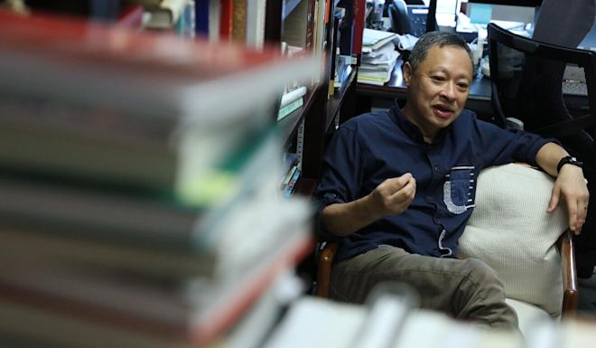 Benny Tai was fired from his position in July. Photo: Nora Tam