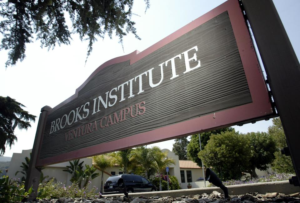 Brooks Institutes' Ventura campus. A state consumer agency is forcing Brooks Institute of Photography, a well–known school with campuses in Santa Barbara and Ventura, to give restitution to students who have attended over the last six years. After an undercover investigation prompted by the complaints of a former registrar, the state alleges that the school routinely lied to prospective students, saying they could repay hefty loans for tuition with first–year salaries ranging from 0,000 to 50,000. The school's parent company, Career Education Corp., has faced similar allegations at other vocational institutions it owns.  (Photo by Stephen Osman/Los Angeles Times via Getty Images)