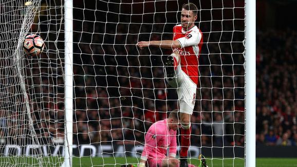 Arsenal midfielder Aaron Ramsey appears to have landed himself in the middle of a social media storm after he liked a comment on Instagram that appears to criticise Jack Wilshere. Wilshere is currently approaching the end of a season-long loan with Bournemouth and though his stats don't make for particularly good reading, he has at least proved to his parent club that he is capable of staying fit. #OneArsenal #ArsenalFC #Arsenal Aaron Ramsey takes sly dig at Arsenal team-mate Jack Wilshere...