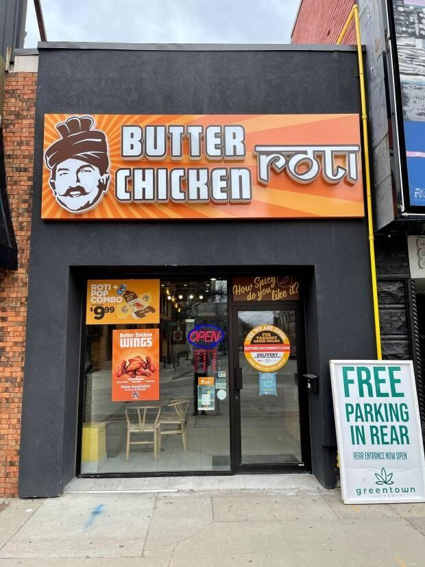Navneet Bhullar opened Butter Chicken Roti in March 2020, but has struggled to receive federal and provincial government grants throughout the pandemic.