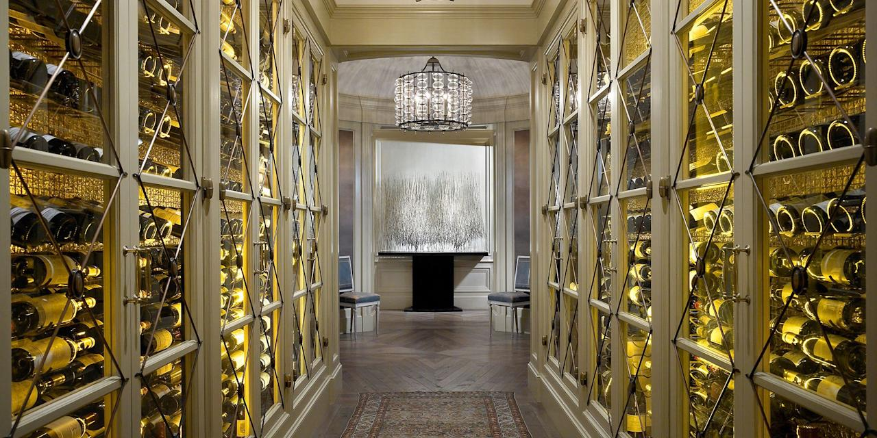 <p>From classic wine cellars to creative contemporary displays integrated into a room's design, here are 24 stunning wine rooms and displays that will have you thinking about whether you'll be enjoying a glass of red or white tonight.</p>