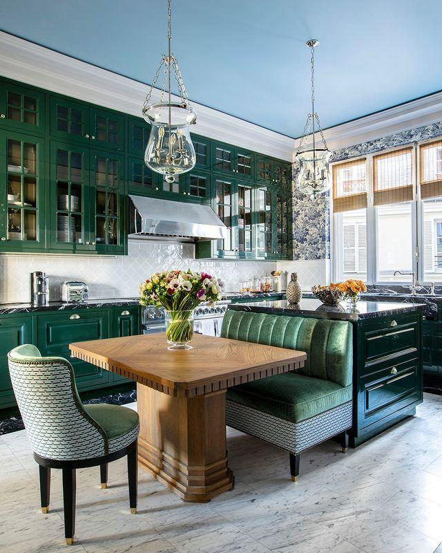 "<p>Our ELLE Decor followers have reinforced their love of bold kitchens, and this high-gloss dark green design by Lorenzo Castillo is no exception. </p><p><a class=""link rapid-noclick-resp"" href=""https://www.elledecor.com/design-decorate/house-interiors/a32802031/lorenzo-castillo-paris-apartment/"" rel=""nofollow noopener"" target=""_blank"" data-ylk=""slk:TOUR THE HOME"">TOUR THE HOME</a></p><p><a href=""https://www.instagram.com/p/CCg7F_7JKOn/"" rel=""nofollow noopener"" target=""_blank"" data-ylk=""slk:See the original post on Instagram"" class=""link rapid-noclick-resp"">See the original post on Instagram</a></p>"