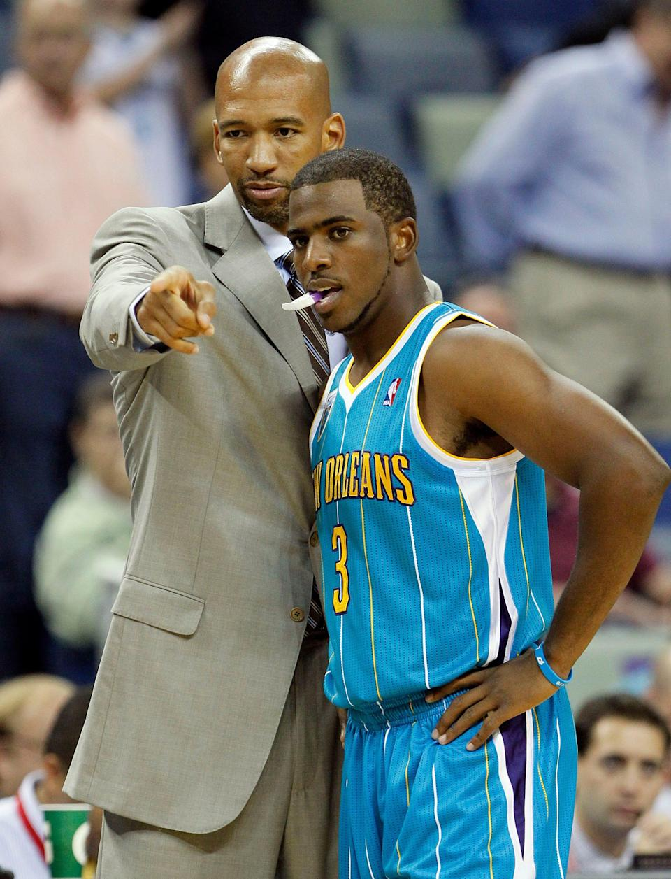Monty Williams said he was forced to change his ways from the first time he coached Chris Paul in New Orleans.