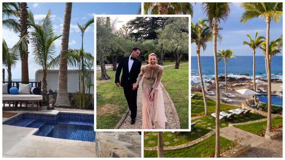 <p>This is the lavish five-star resort with a gorgeous chapel overlooking the dazzling Sea of Cortez where Karl Stefanovic and his fiancée Jasmine Yarbrough are getting married on Saturday.<br />Source: One&Only/Instagram/JasmineYarbrough </p>