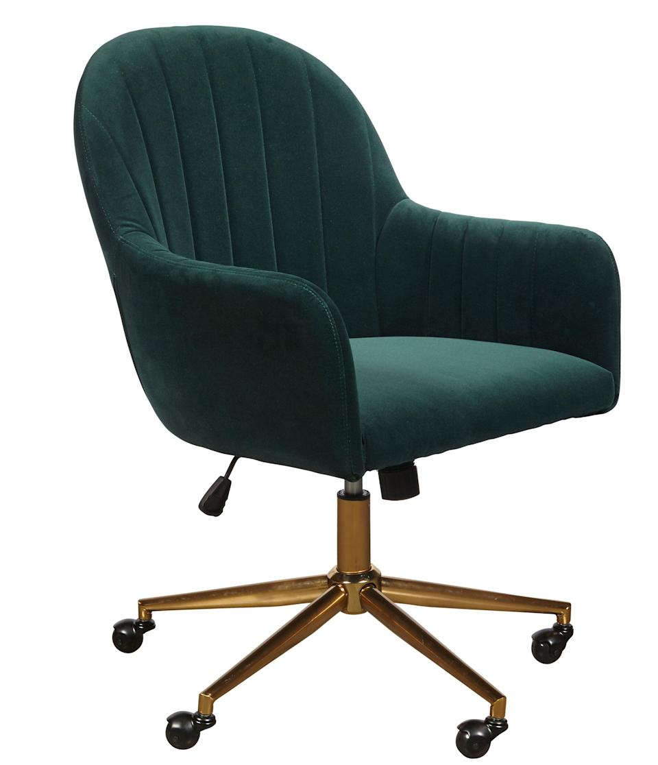 """<br><br><strong>Joss & Main</strong> Flanigan Channel Task Chair, $, available at <a href=""""https://go.skimresources.com/?id=30283X879131&url=https%3A%2F%2Ffave.co%2F37XgROi"""" rel=""""nofollow noopener"""" target=""""_blank"""" data-ylk=""""slk:Joss & Main"""" class=""""link rapid-noclick-resp"""">Joss & Main</a>"""
