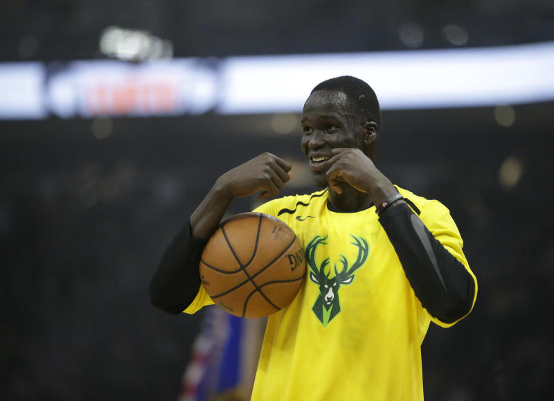 Thon Maker might be on his way out of Milwaukee. (AP Photo Aaron Gash) 02d67078e