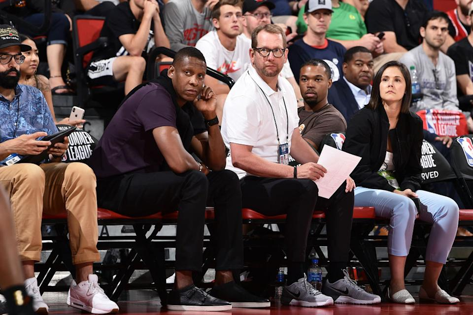 The Raptors decision with the No. 4 pick isn't as easy as taking whichever one of the four prospects is left over after Detroit, Houston, and Cleveland draft in the first three slots. (Getty)
