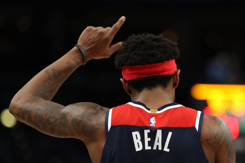 Bradley Beal may be the No. 1 trade target this offseason. (Patrick Smith/Getty Images)