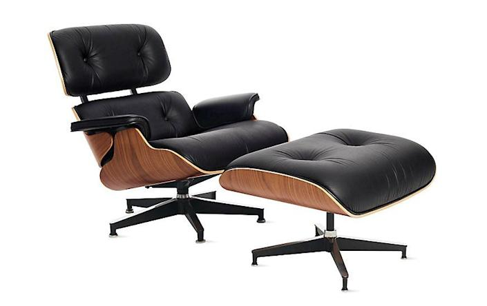 """<p><strong>Charles and Ray Eames</strong></p><p>dwr.com</p><p><strong>$5520.75</strong></p><p><a href=""""https://go.redirectingat.com?id=74968X1596630&url=https%3A%2F%2Fwww.dwr.com%2Fliving-lounge-chairs%2Feames-lounge-chair-and-ottoman%2F10009136.html&sref=https%3A%2F%2Fwww.redbookmag.com%2Fbeauty%2Fg37132432%2Fchair-types-styles-designs%2F"""" rel=""""nofollow noopener"""" target=""""_blank"""" data-ylk=""""slk:Shop Now"""" class=""""link rapid-noclick-resp"""">Shop Now</a></p><p>While the Eameses are best-known for their efforts to create inexpensive furniture pieces that could be easily mass-produced, their now-ubiquitous lounge chair and ottoman was the couple's take on luxury. The endeavored to create the most comfortable chair possible, one that had the warm, worn feel of a """"well-used first baseman's mitt."""" Herman Miller released the seat in 1956 in wood and black leather; it's now available in a slew of upholstery and finish options and continues to appear in interiors around the world. </p>"""