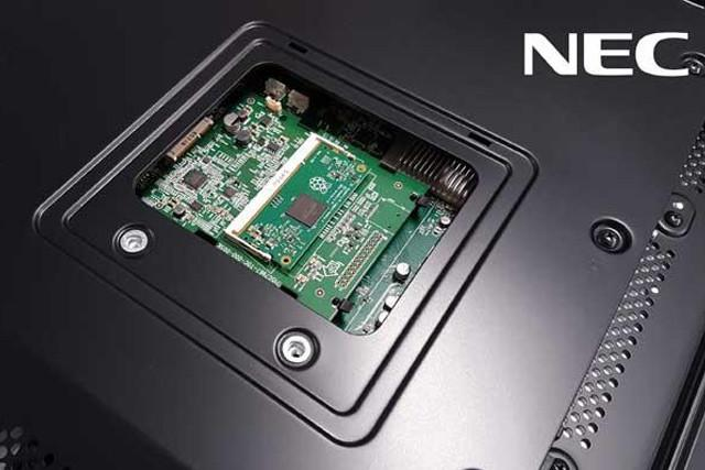 NEC serves up a slice of Pi, will start building Raspberry Pi 3s into its displays