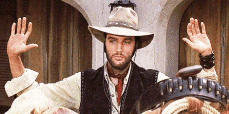 Elvis Presley in Charro! [Image via Warner Bros]
