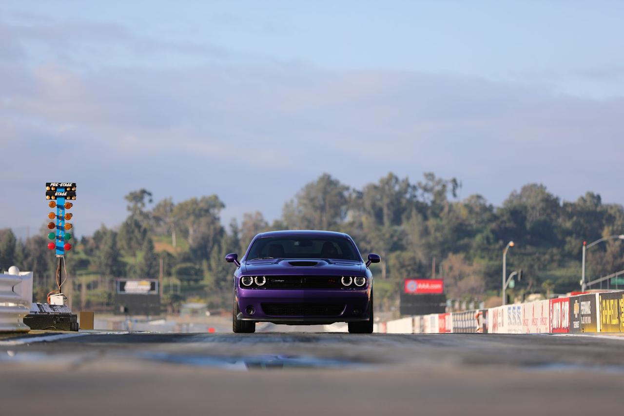 <p>Based on the 485-hp Challenger R/T Scat Pack with its optional eight-speed automatic transmission, the $3995 1320 Drag package adds the Demon's adaptive dampers and launch-friendly suspension setup, a transmission brake, a line-lock feature for burnouts, and installs only the driver's seat. Including the 1320-required automatic trans, which amounts to $595 option once the no-longer-required gas-guzzler tax is omitted, the 1320 starts at $46,080. Adding the other seats and the priceless ability to bring the family along costs only $2.</p>