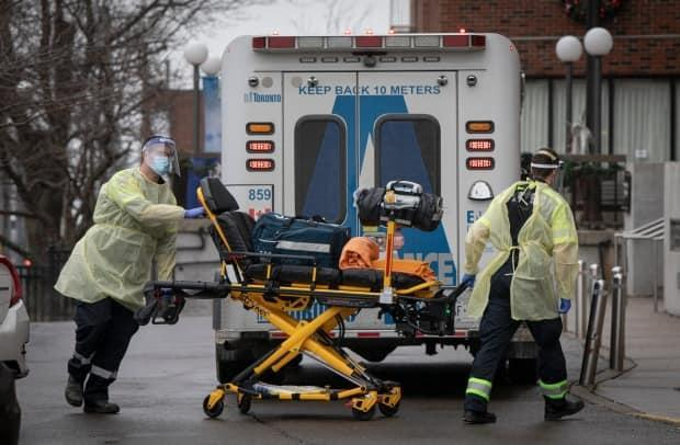 Ontario hospitals will be able to transfer patients without consent, under certain conditions, under one of two emergency orders issued Friday in a bid to take pressure off the heath-care system. (Evan Mitsui/CBC - image credit)