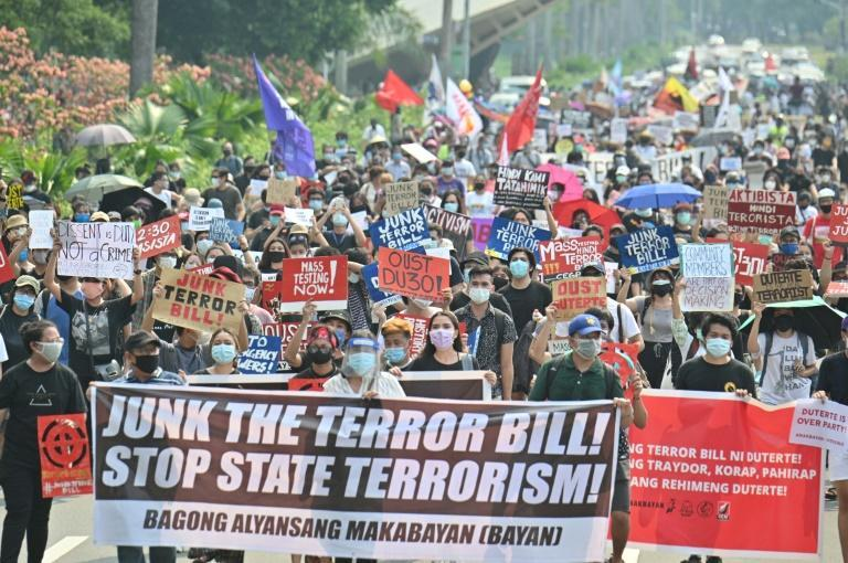 Philippine President Duterte recently signed an anti-terrorism law that many fear will be used to silence dissent and threaten press freedoms