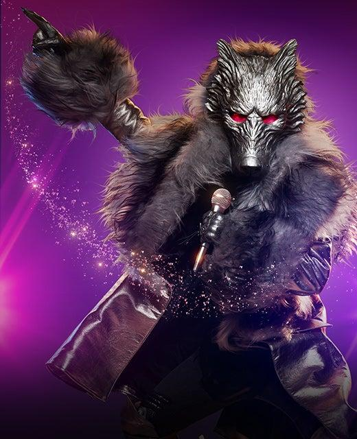 The Wolf on The Masked Singer Australia 2019. Photo: Channel 10