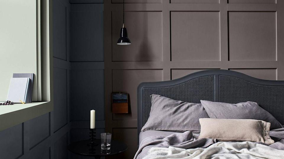 <p>As featured in 26 per cent of top posts, combining panelling to a wall and painting it grey is a winning formula. </p><p>'Grey paint can create or enhance any mood, and it can really help to make the features of your panelled walls pop because of how it interacts with light and shadow to create a striking focal point in any room,' Dulux explains.</p>