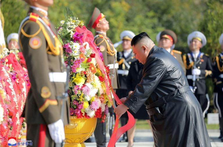 North Korean leader Kim Jong Un paid tribute to Chinese troops killed in the Korean War