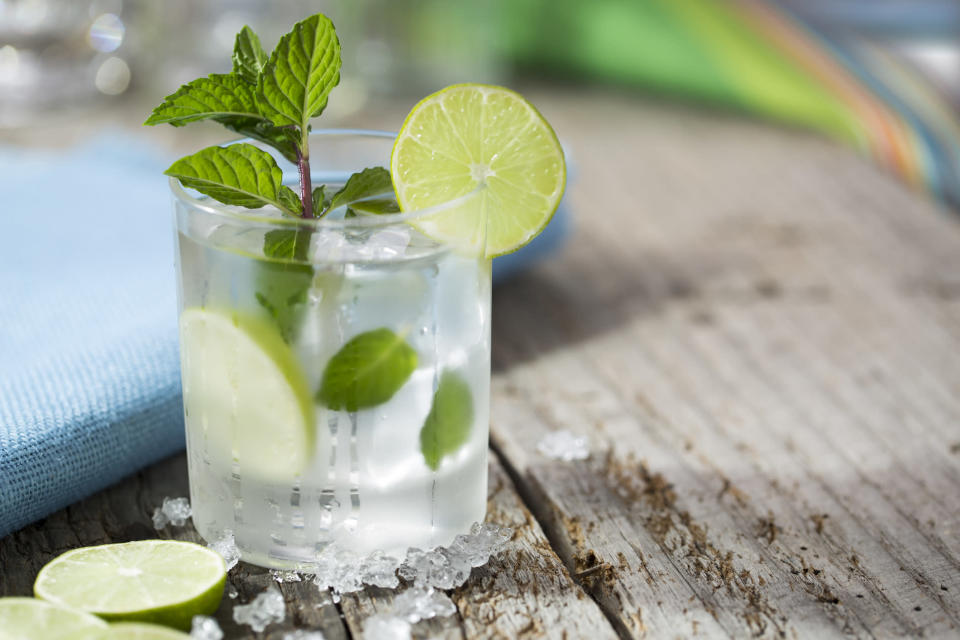 Yep, we were disappointed to learn how many calories are in a mojito too… [Photo: Getty]