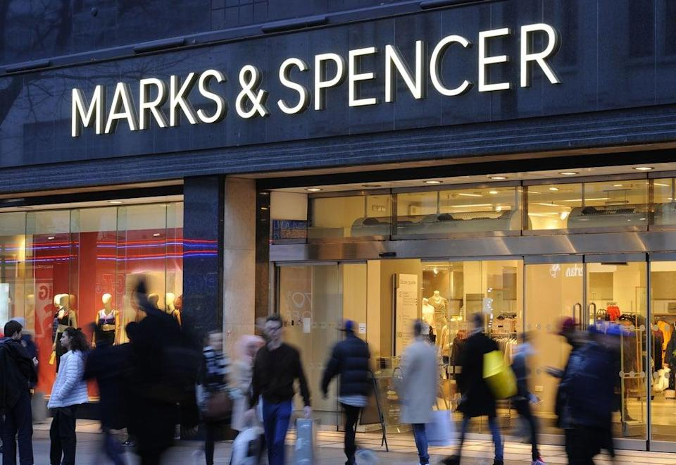 Retail giant Marks & Spencer has said it will close 11 of its stores in France due to fresh and chilled food supply issues following Brexit (Charlotte Ball/PA) (PA Wire)