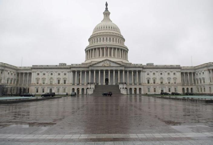 The US Senate is the focus of negotiations on a massive coronavirus economic support package (AFP Photo/SAUL LOEB)