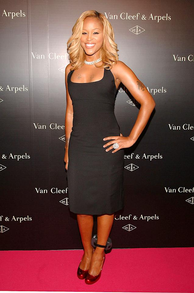"""Back in the States, New York Fashion Week kicked off with the Van Cleef & Arpels party. Rapper Eve sported the hottest celebrity accessories of the summer: an alcohol monitoring anklet. Jamie McCarthy/<a href=""""http://www.wireimage.com"""" target=""""new"""">WireImage.com</a> - September 4, 2007"""